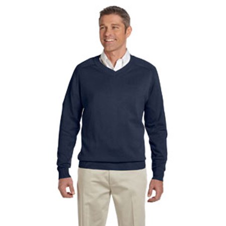 Mens Classic V-neck Sweater - Devon & Jones Men's V-Neck Sweater