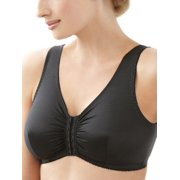 Glamorise Womens Complete Comfort Front-Close Wire-Free Sleep Bra Style-1803