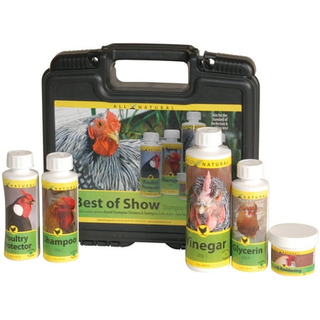 Best of Show 5-Step Poultry Grooming Kit