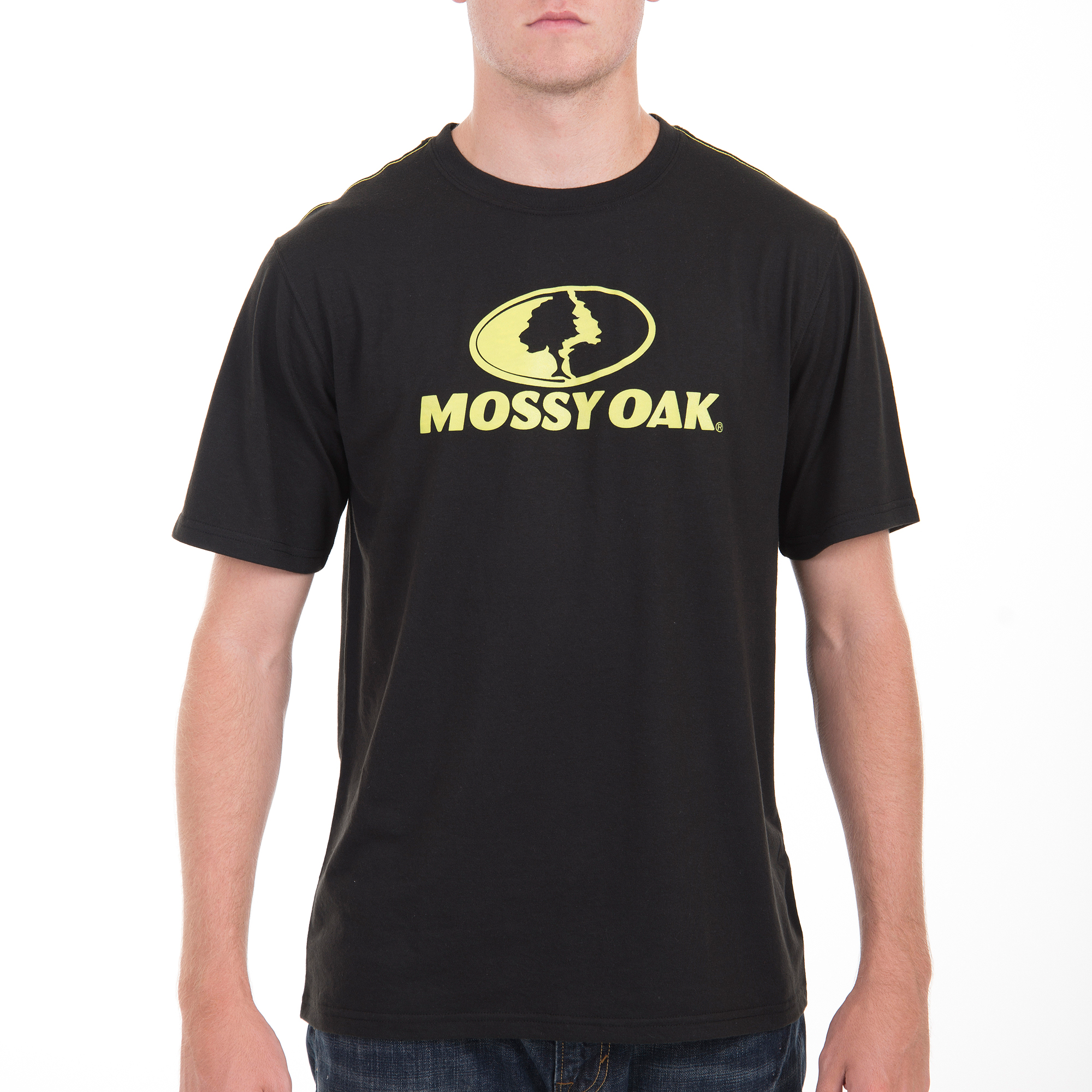 Realtree and Mossy Oak Men's Performance Soft Logo Tee