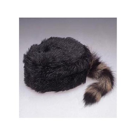 Adult Coonskin Cap Jacobson Hat 14296 - Hot Adult