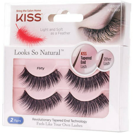 KISS Looks So Natural™ Double Pack -