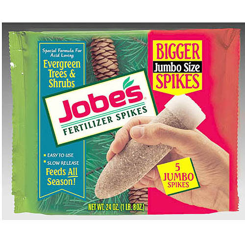 Jobes Easy Gardener 1001 5 Pack Evergreen Fertilizer Spikes 13-3-4