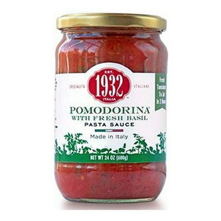 Menu 1932 Pomodorina With Fresh Basil Pasta Sauce   24 Oz
