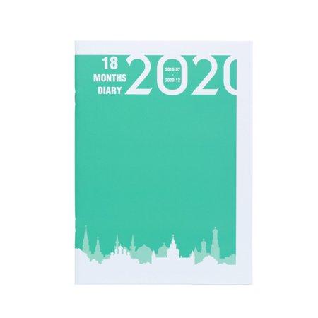 2019-2020 Weekly Monthly Journal Planner Diary Scheduler Study Business - Planner Scheduler