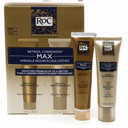 RoC Retinol Correxion Max Wrinkle Resurfacing System 1 Each (Pack of (Retinol Correxion Max Wrinkle Resurfacing System Como Usar)