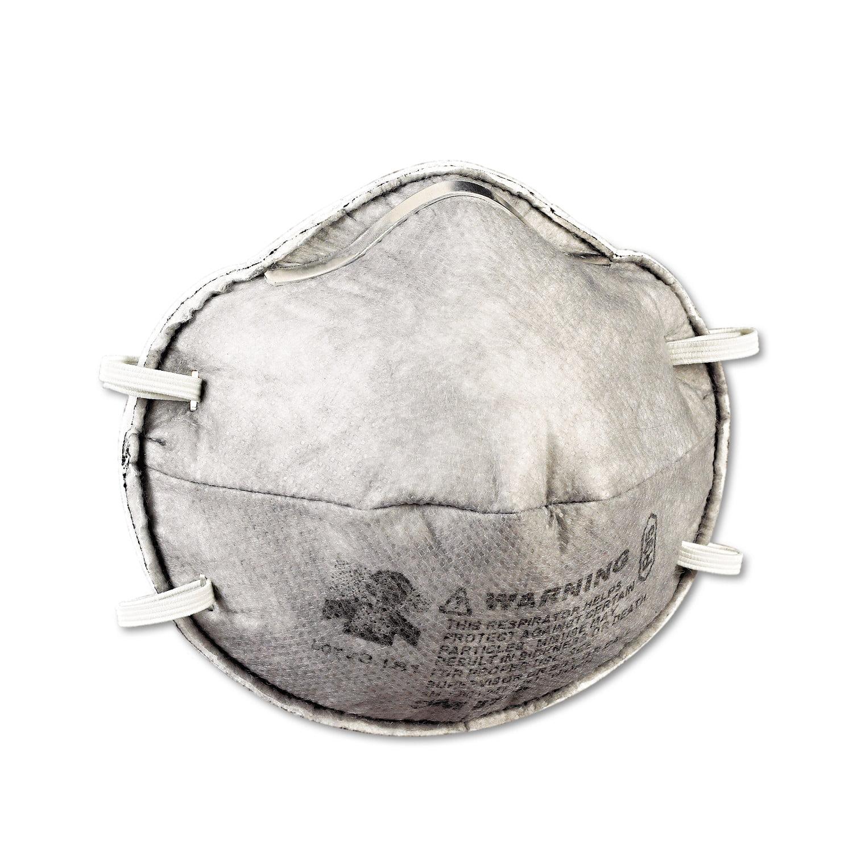 3M R95 Particulate Respirator w/Nuisance-Level Organic Vapor Relief, 20/Box