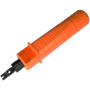 110/66 PUNCH DOWN INSTALL TOOL CAT6/CAT5/CAT5E NETWORK CABLE 4XEM 110/66 Impact Punchdown Tool For Cat5/Cat6 Network Cable - Orange - Alloy Steel - 5.76 oz - Built-in Blade Storage CAT6/CAT5/CAT5E NETWORK CABLE