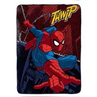 """Marvel Spiderman Burst Silk Touch 62"""" x 90"""" Twin Blanket"""