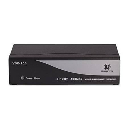 ConnectPRO VSE-103, 3-port Video Distribution Amplifier Color Video Distribution Amp