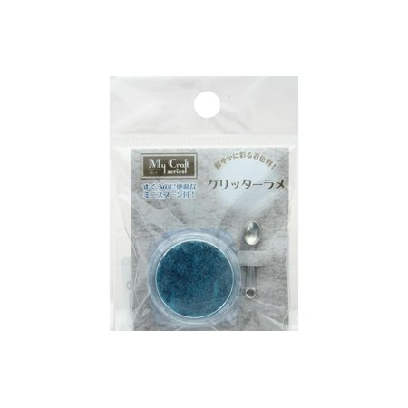RS-48 RESINATE GLITTER LAME 2GM AQUA BLUE