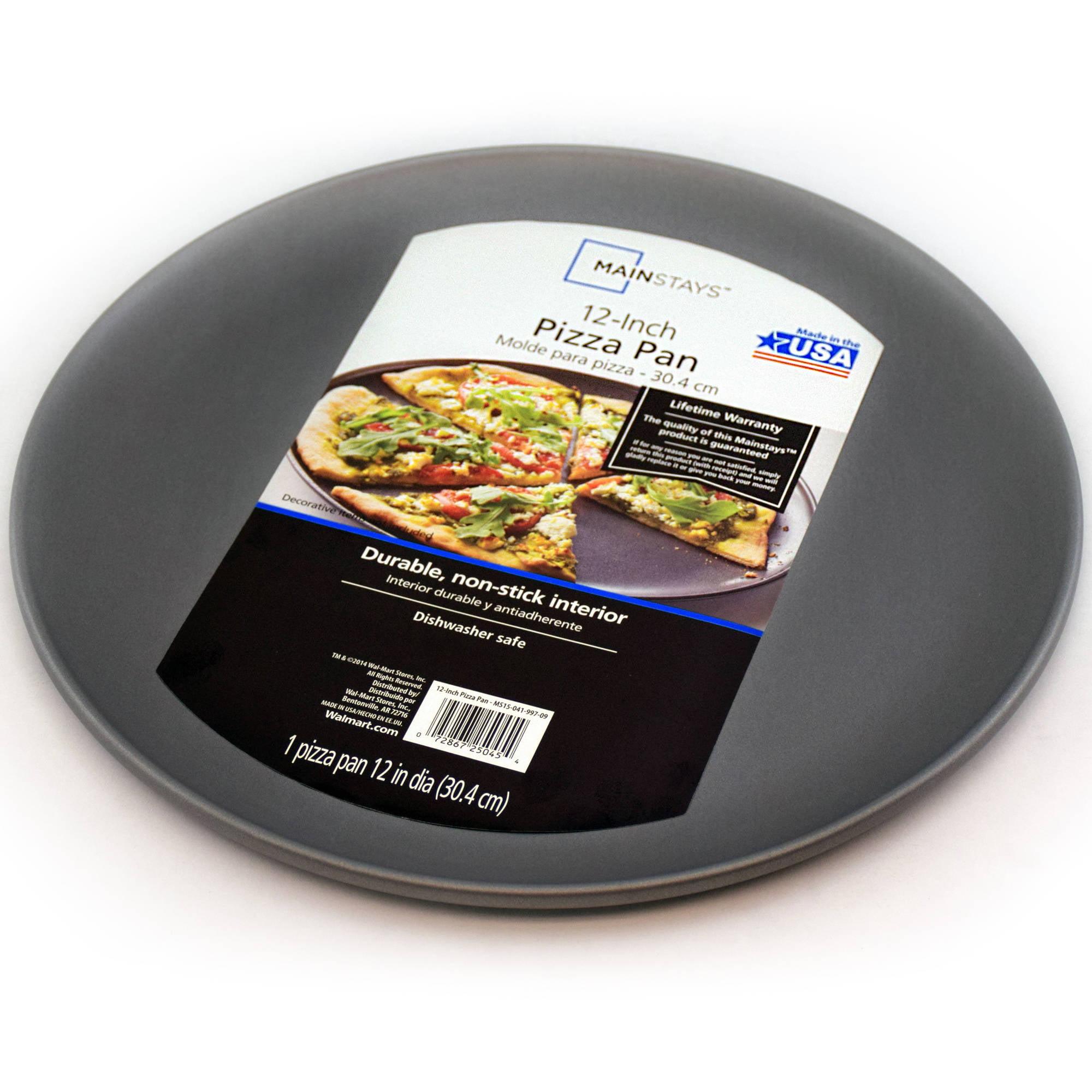 "Mainstays 12"" Non-Stick Pizza Pan"