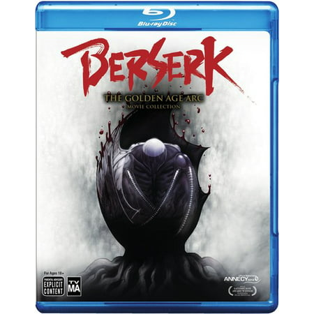 Berserk Golden Age Arc 3 Movie Collection Blu Ray