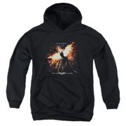 The Dark Knight Rises Fire Will Rise Big Boys Pullover Hoodie