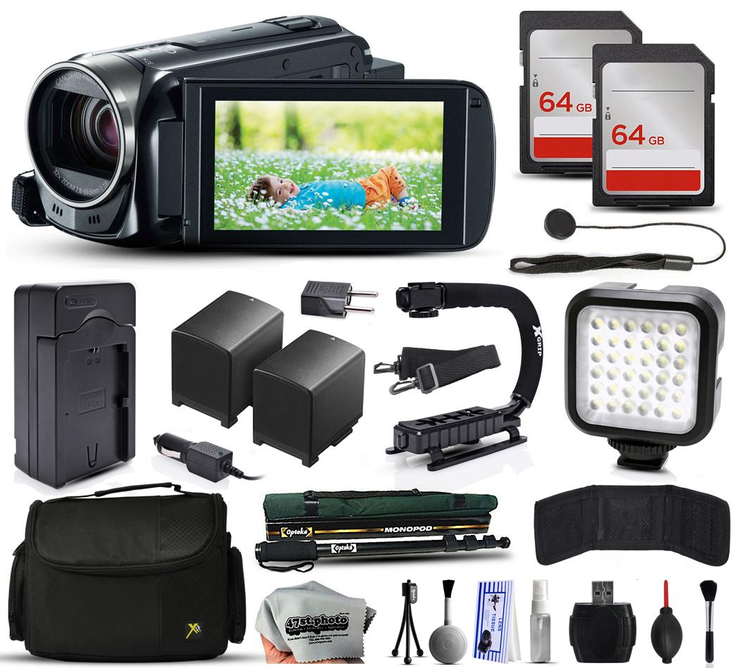 Canon VIXIA HF R52 HFR52 HD Camcorder Video Camera + 128G...