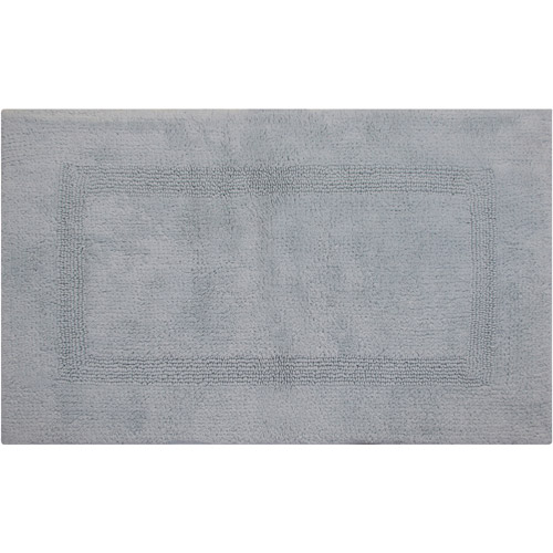 Lux 100 Percent Cotton Bath Rug by Pan Overseas