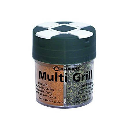 - Coghlan's 0072 Multi-Grill Spice Pack - Four Herb Assortment