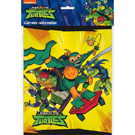 Ninja Turtles Goodie Bags (Teenage Mutant Ninja Turtles Loot Bags)