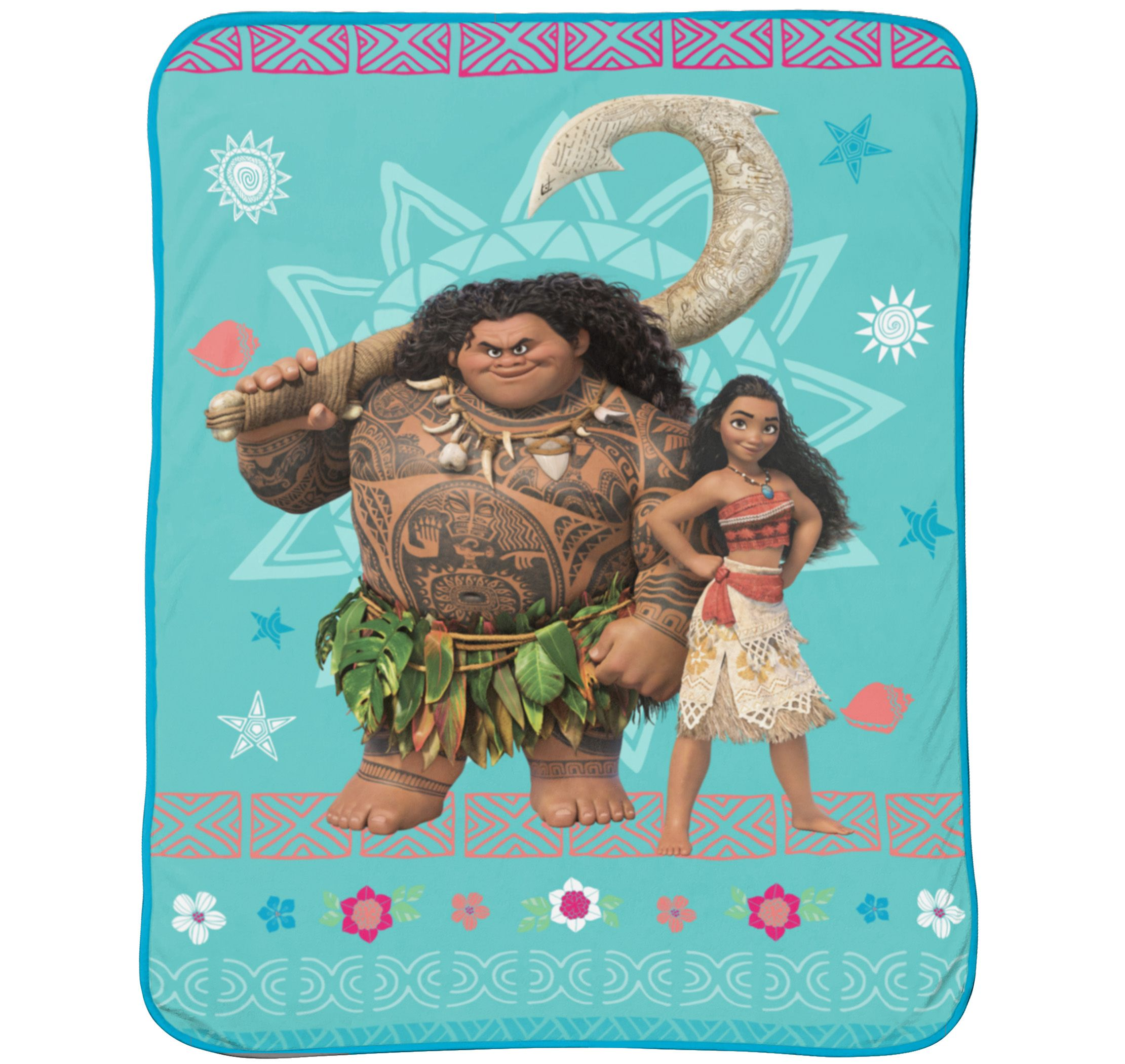 "Disney Moana 46"" x 60"" Plush Throw, 1 Each"