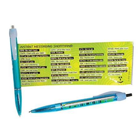 Text Message Pen - Instant Message Shorthand Pen