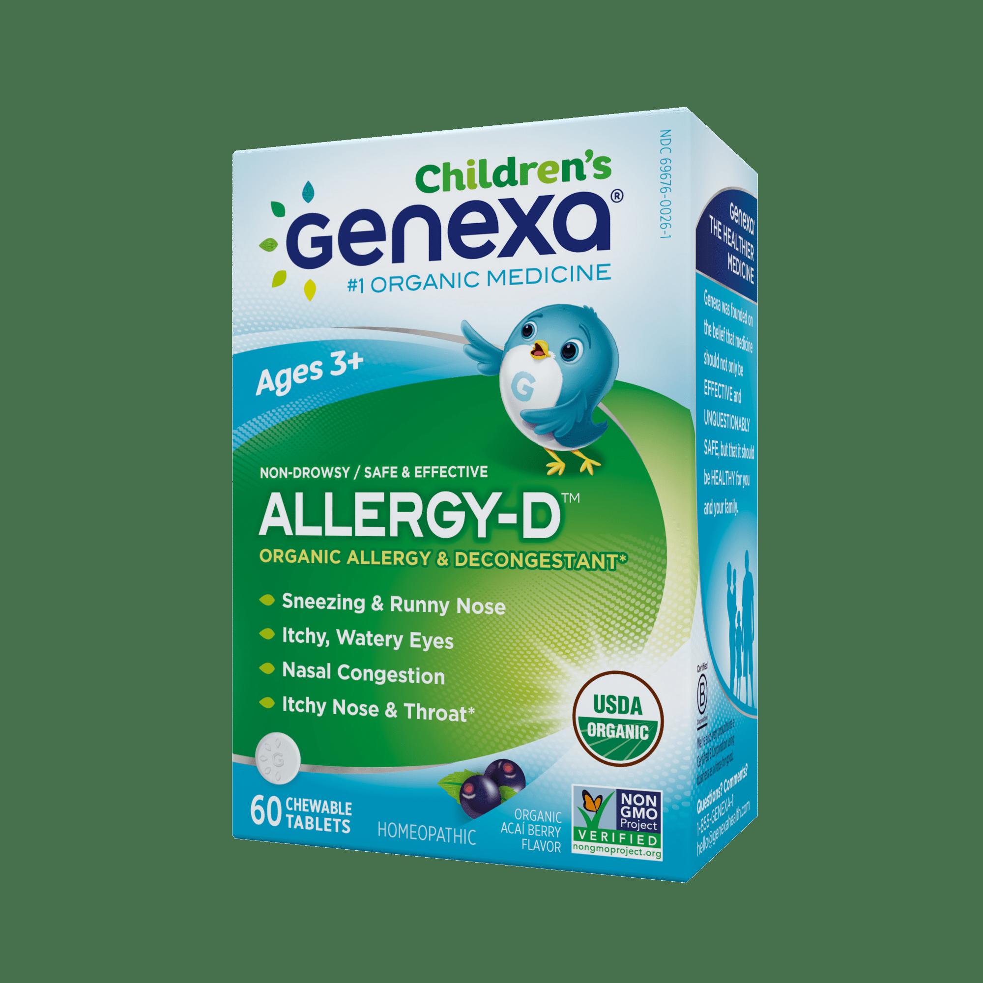 Genexa Homeopathic Allergy for Children: The Only Certified Organic Kids Allergy &...