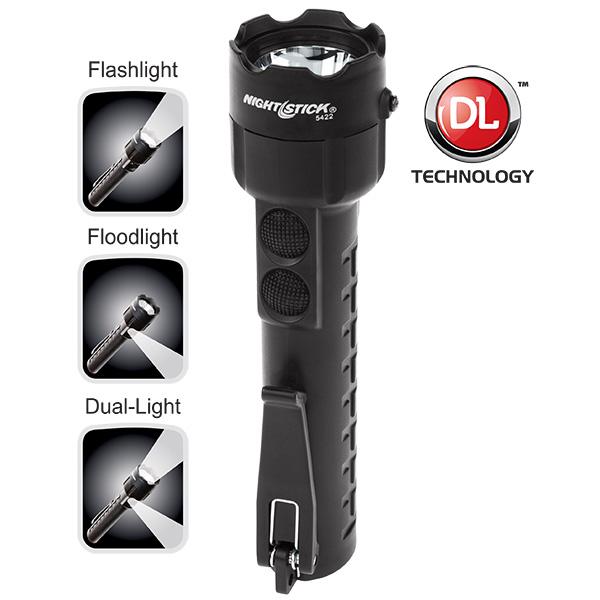 Nightstick XPP-5422B Intrinsically Safe Permissible Dual-Light Flashlight