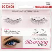 KISS Natural Flourish Blooming Lash False Eyelashes, Jasmine, 1 pr
