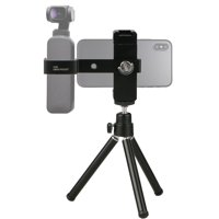 Phone Holder for Tripod, EEEKit Mini Tripod Phone Mount Stand Holder Triangle Bracket Handheld Gimbal Holder Accessories For DJI Osmo Pocket Camera