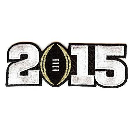 National Emblem 2015 NCAA Championship Patch Black PATCHCNC15B Connecticut Huskies Ncaa Applique