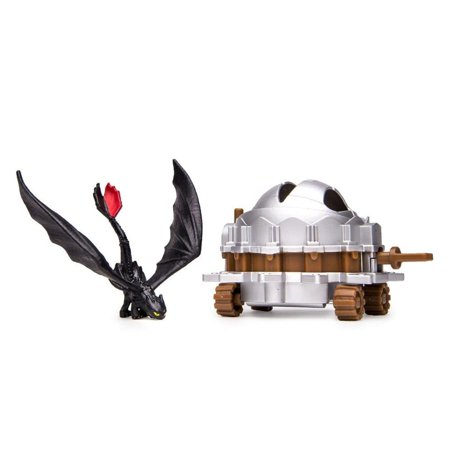 How to Train Your Dragon 2 Toothless vs. Dragon Catcher Action Figure 2-Pack 2 Pack Action Figure