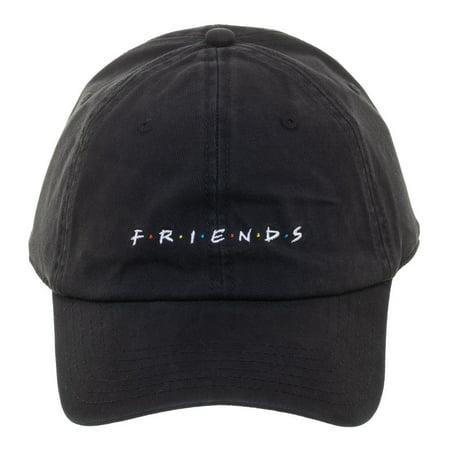 Baseball Cap - Friends - Logo Black Hat New ba5sxrfri Logo Hobbies Cap