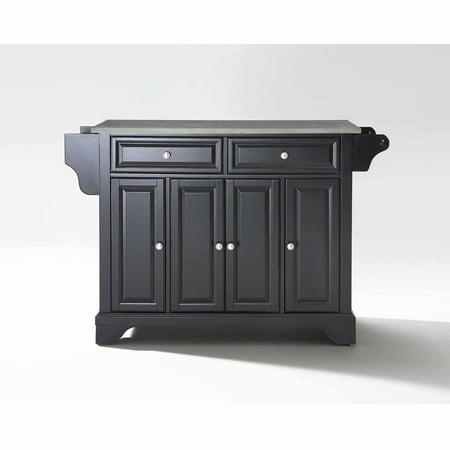 Crosley Furniture LaFayette Stainless Steel Top Kitchen (Stainless Steel Island Tops)
