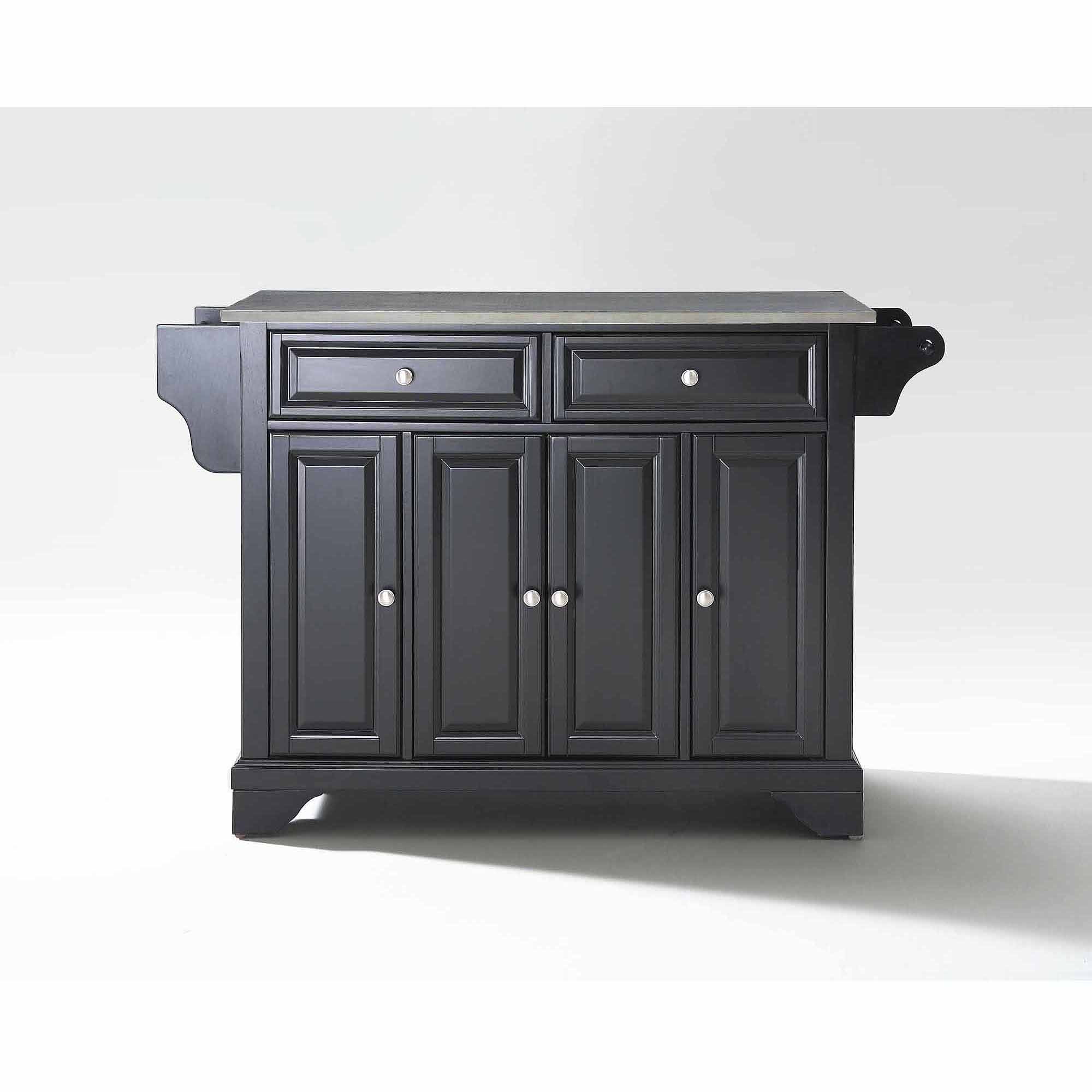 Crosley Furniture LaFayette Stainless Steel Top Kitchen Island