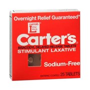 Carter's Laxative Tablets 25 Tablets