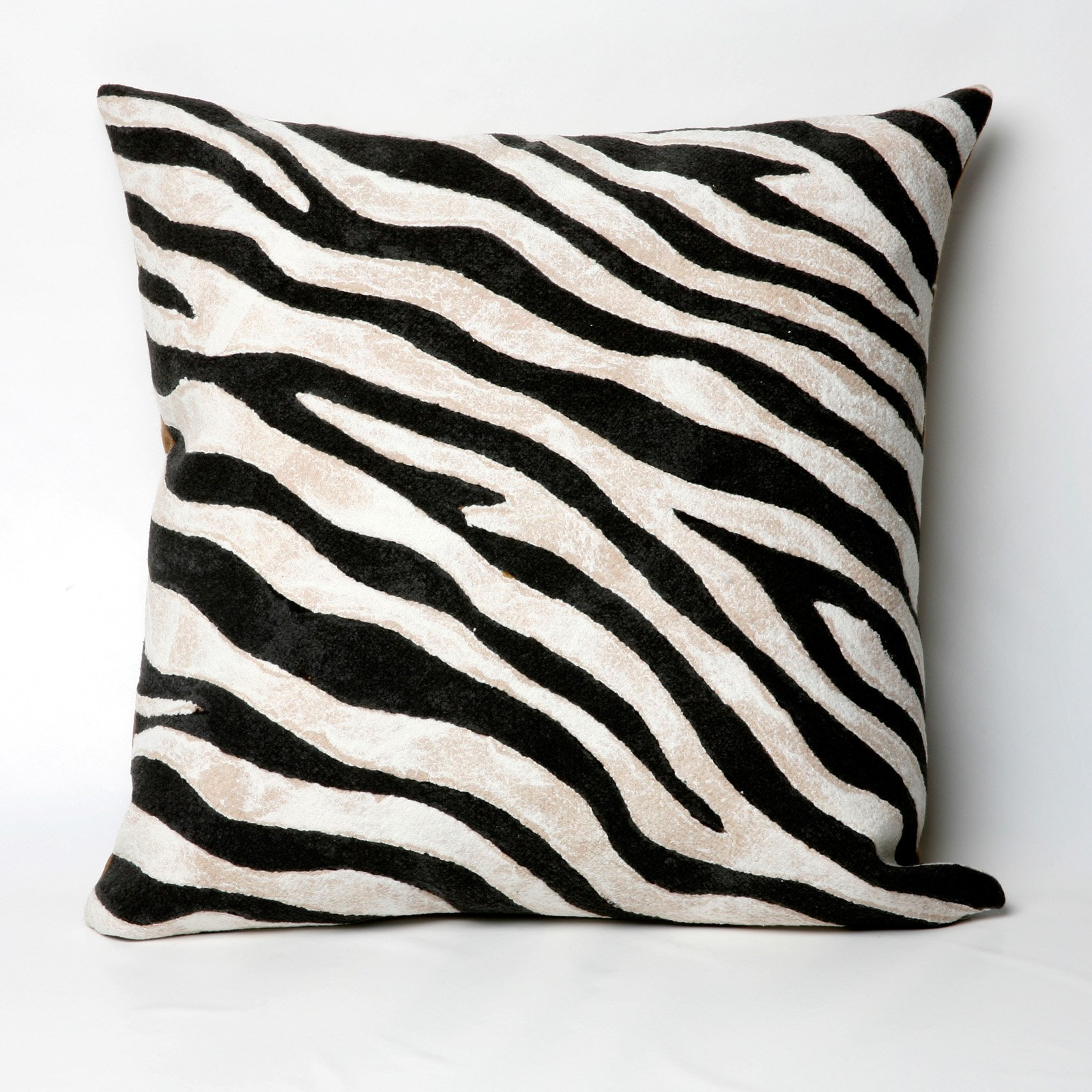 Liora Manne Zebra Indoor / Outdoor Throw Pillow