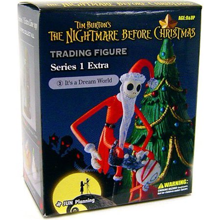 Tim Burton's The Nightmare Before Christmas Series 1 Extra Trading Figure It's A Dream World by, Brand New Official Item By Jun Planning - Halloweentown Nightmare Before Christmas