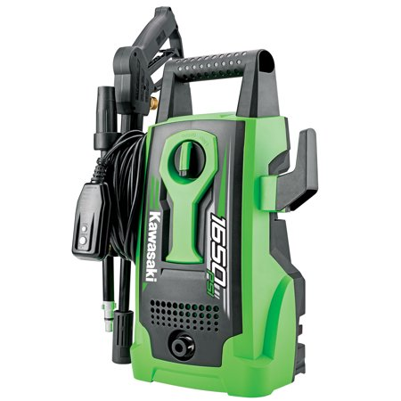 Kawasaki 1650 PSI Outdoor Cleaning Portable Electric Pressure Washer -
