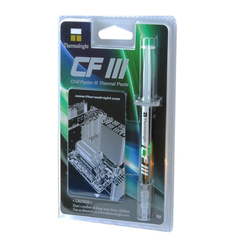 Thermalright CF3 Chill Factor 3 Thermal paste for CPU
