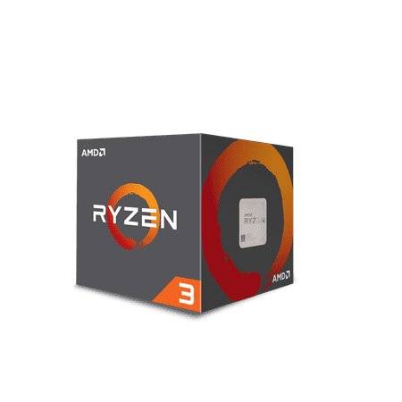 AMD RYZEN 3 1200 3.1 GHz (3.4 GHz Turbo) 4-Core Socket AM4 8MB Cache Desktop Processor -