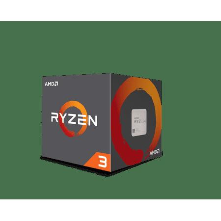 AMD RYZEN 3 1200 3.1 GHz (3.4 GHz Turbo) 4-Core Socket AM4 8MB Cache Desktop Processor -