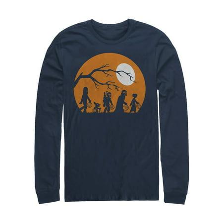 Star Wars Men's Halloween Characters Trick or Treat Long Sleeve T-Shirt