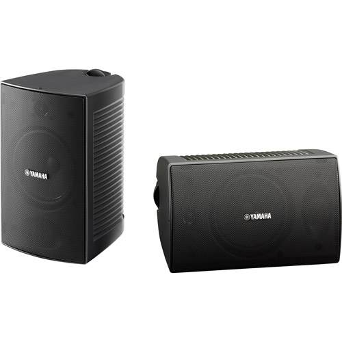 Yamaha NS-AW294BL Indoor Outdoor 2-Way Speakers by Yamaha
