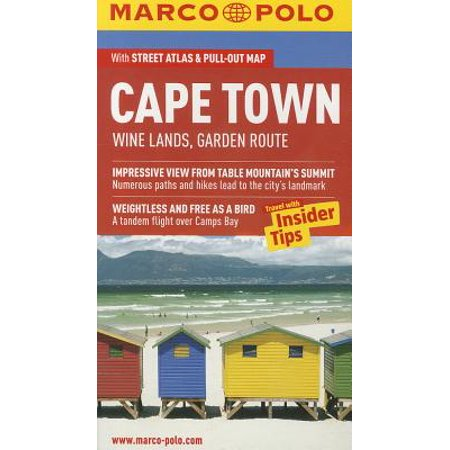 Marco polo cape town : wine lands, garden route: 9783829707039 (Cape Town The Making Of A City)