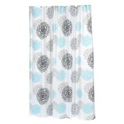 """Extra Long """"Isabella"""" Fabric Shower Curtain"""