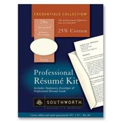 southworth company professional resume paper and envelope