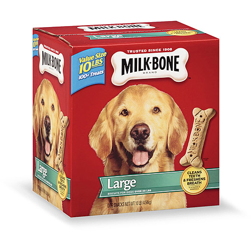 Milk-Bone Original Dog Biscuits - for Large-sized Dogs, 10-Pound