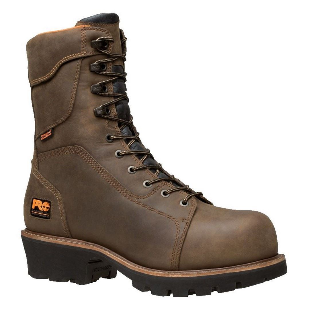 Timberland PRO Rip Saw 89656 Mens Composite Toe Waterproof Insulated Logger Boots