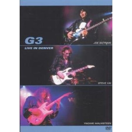G3 Live in Denver (DVD) (Cost Of Living In Denver Vs Los Angeles)