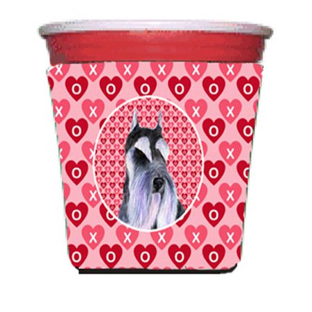 Schnauzer Red Solo Cup bottle sleeve Hugger - 16 To 22 oz. - image 1 de 1