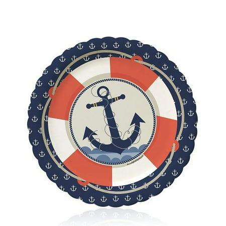 Ahoy Nautical - Party Dessert Plates (8 count)